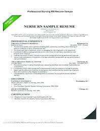 Rn Resume Samples New Grad Graduate Nurse Resume Examples Resume