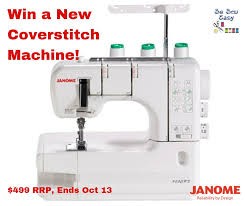 <b>NEW Janome</b> Coverpro Giveaway: Have You Ever Wanted a ...