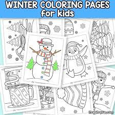 Among us coloring pages are simple coloring sheets for kids of all ages. Winter Coloring Pages Itsybitsyfun Com