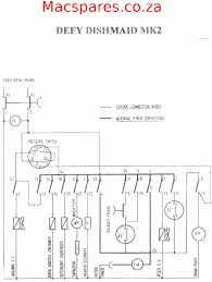 wiring diagram dishwashers macspares wholesale spare parts Wiring A Plug To Dishwasher defy dishwasher dishmaid mk2 wiring a plug to a dishwasher