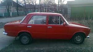 Красная старушка - Лада 2101