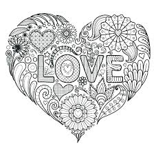 heart mandala coloring pages printable colouring pages love coloring heart