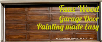 diy faux wood garage doors. Faux Wood Garage Door Painting Made Easy Diy Doors