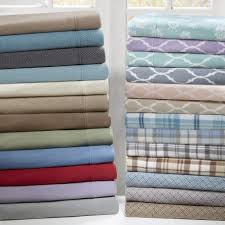 microfleece sheet set.  Set True North By Sleep Philosophy Microfleece Sheet Set In