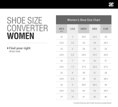 Shoe Size Conversion Chart Help Center