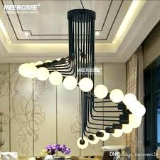 black shade chandelier contemporary chandeliers modern clear glass drum dining room