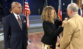 Rep. Lucy McBath Honors Vietnam War Veterans During 50th Commemoration  Pinning Ceremony | Press Releases | Congresswoman Lucy McBath