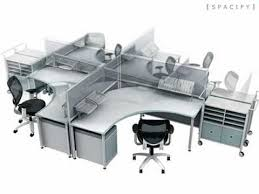 Cool fice Furniture Modern puter Workstation Contemporary