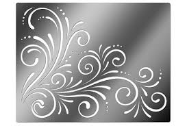 flower stencil patterns