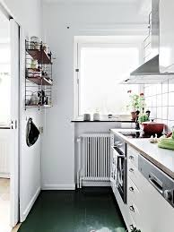 Painted Green Floor Kitchen Remodelista Martha Stewart Painted Floors