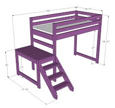 bunk bed with stairs plans. Bunk Bed With Stairs Plans N