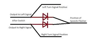 help wiring turn signals yamaha forum here s a crude diagram of what i was referring to sorry it s crappy in paint good software is at work