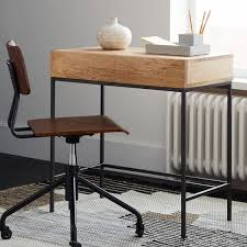 desks small spaces. Beautiful Small 1 Industrial Storage Mini Desk 399 Intended Desks Small Spaces