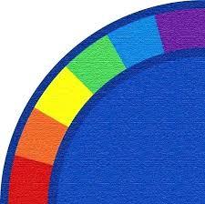 blue circle rug blue circle rug colors corner quarter circle rug navy blue round area rug