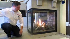 napoleon hd4 see thru peninsula direct vent gas fireplace review