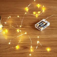 Decorative String Lights Amazon Gardendecor Led String Lights 50 Leds Decorative Fairy Battery Powered String Lights Copper Wire Light For Bedroom Wedding 16ft 5m Warm White