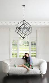 kelly wearstler lucien sofa circa lighting cubist chandelier