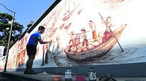 singapore mural artist yip yew chong on wall mural artist singapore with yip yew chong singapore mural artist part 1 of 4 home decor