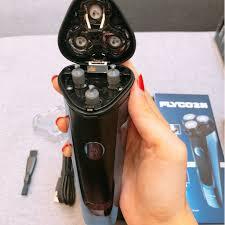 Máy cạo râu FLYCO FS318, hàng cao cấp,chống nước và chống kẹt râu thông  minh giá cạnh tranh