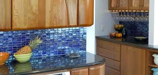 kitchen blue glass backsplash. Blue Glass Tile Backsplash Contemporary Design Ideas Of  For Your Kitchen . E