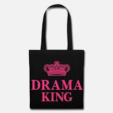 Drama King King König Humor Sprüche Drama Queen Wwweushirt