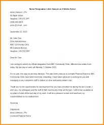 One Week Notice Resignation Letter 8 Two Week Notice Resignation Letter Templates Free Sample