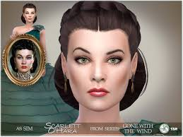 Gone with the Wind - Scarlett O'Hara - The Sims 4 Catalog