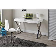 mayline high gloss white office desk