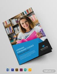 Education Brochure Templates Free Education Brochure Template Word Psd Indesign