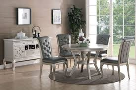 full size of rug dazzling round dining room set 16 barzini table silver finish gray round