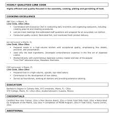 Line Cook Resume Gorgeous Sample Line Cook Resume Nice Looking Cook Resume Sample 60 Chef