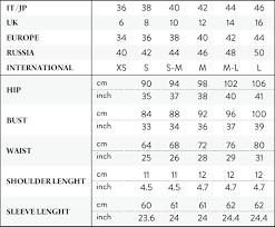 Bill Levkoff Size Chart 14 Bill Levkoff Size Chart Based Resume