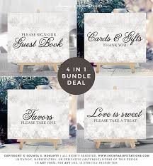 Sign Book For Wedding Silver Grey Winter Wedding Signs Snowflake Wedding Signs Winter Guest Book Sign Cards And Gifts Sign Favors Sign Love Is Sweet Sign Printable