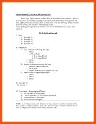 mla outline example titleletter mla outline example outline mla format what is