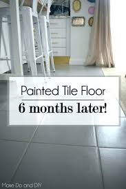 painting floor tiles before and after paint for floor tiles in kitchen amazing of tile idea