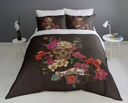 day of the dead duvet cover set