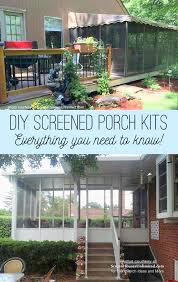 get a diy screen porch kit for your porch deck or patio