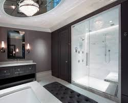 contemporary master bathroom lighting design