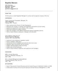 bad resume example resume key qualifications examples 27 best examples of an objective for a resume