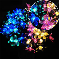 Outdoor Novelty Lights Us 8 43 41 Off Yiyang Outdoor Waterproof Novelty Solar Led Garlands String Lights Cherry Holiday Wedding Decoration Mariage Solaire Led Lumiere In