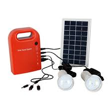 2 led lamp male female usb cable battery charger emergency lighting system portable large capacity solar
