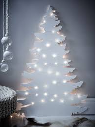Christmas Tree Alternatives  White Company Wall Decorations And Christmas Trees That Hang On The Wall