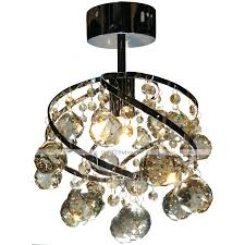 Molto Master Electronic Kitchen With Lights Lightmyself Flush Mount Ambient Light Chrome Crystal
