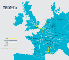 eurostar map  rail plus australia  rail plus australia