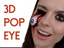 easy 3d pop eye sfx makeup tutorial 2016 ripped dislodged eye smashinbeauty