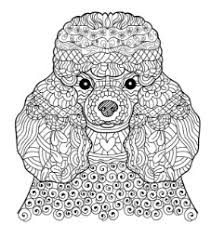 Small Picture coloriage art therapy 5 Pinterest Beautiful dogs Adult