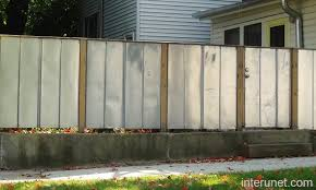 corrugated metal fence. Exellent Fence Sheet Metal Fence Picture Interunet In Design 1 Corrugated