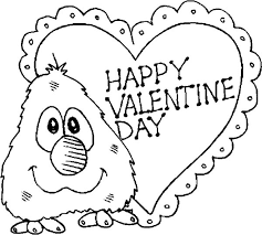 Small Picture Little Elmo Say Happy Valentines Day Folks Coloring Page