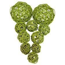 Lime Green Decorative Balls