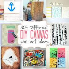 diy canvas art ideas 25 creative and easy diy canvas wall art ideas